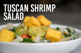 Tuscan Shrimp Salad