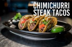 Chimichurri Steak Tacos