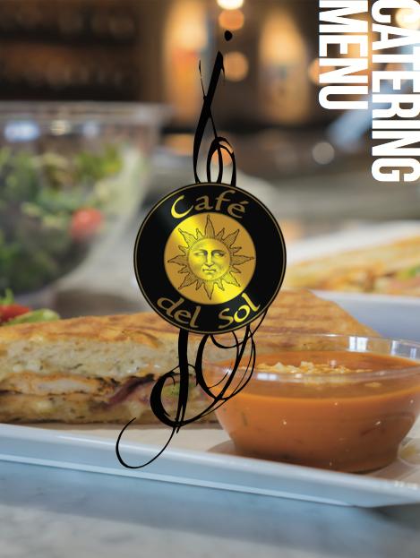 Cafe del Sol Catering Menu