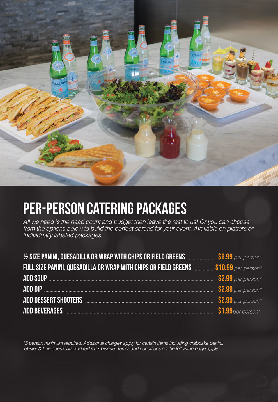 Interested In Catering A Special Event