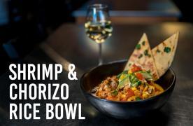 Shrimp & Chorizo Rice Bowl