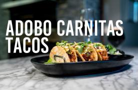Adobo Carnitas Tacos